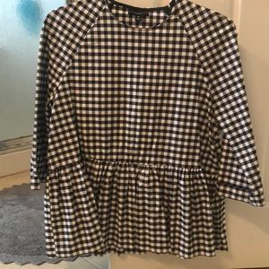 Victoria Beckham for Target Gingham Top